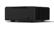 Fanless Media Server Mini-FLM-8-Black-2TB